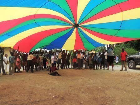 Kids Parachute Clipart Kids Parachute Games Clipart