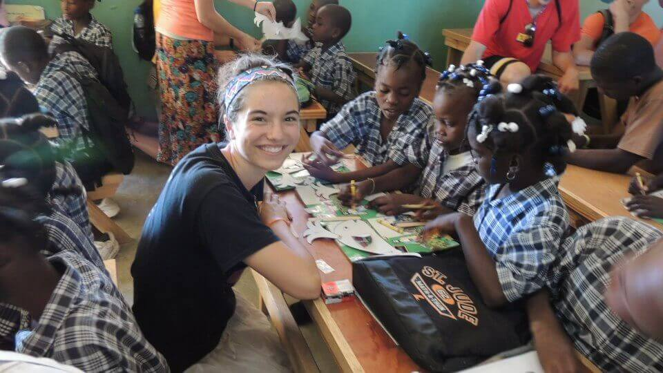 Morgan De Ruiter Haiti
