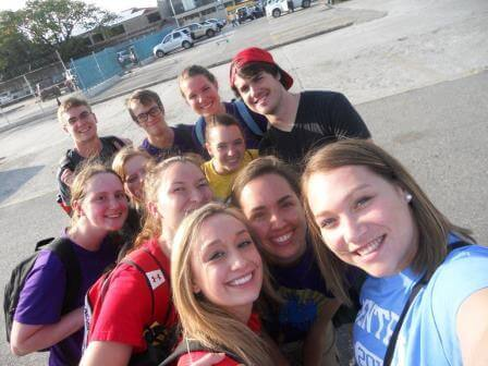 We arrived at Port au Prince. Time for a quick selfie.