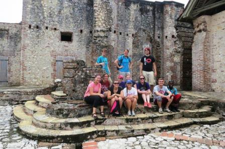 The whole group in the Citadel.