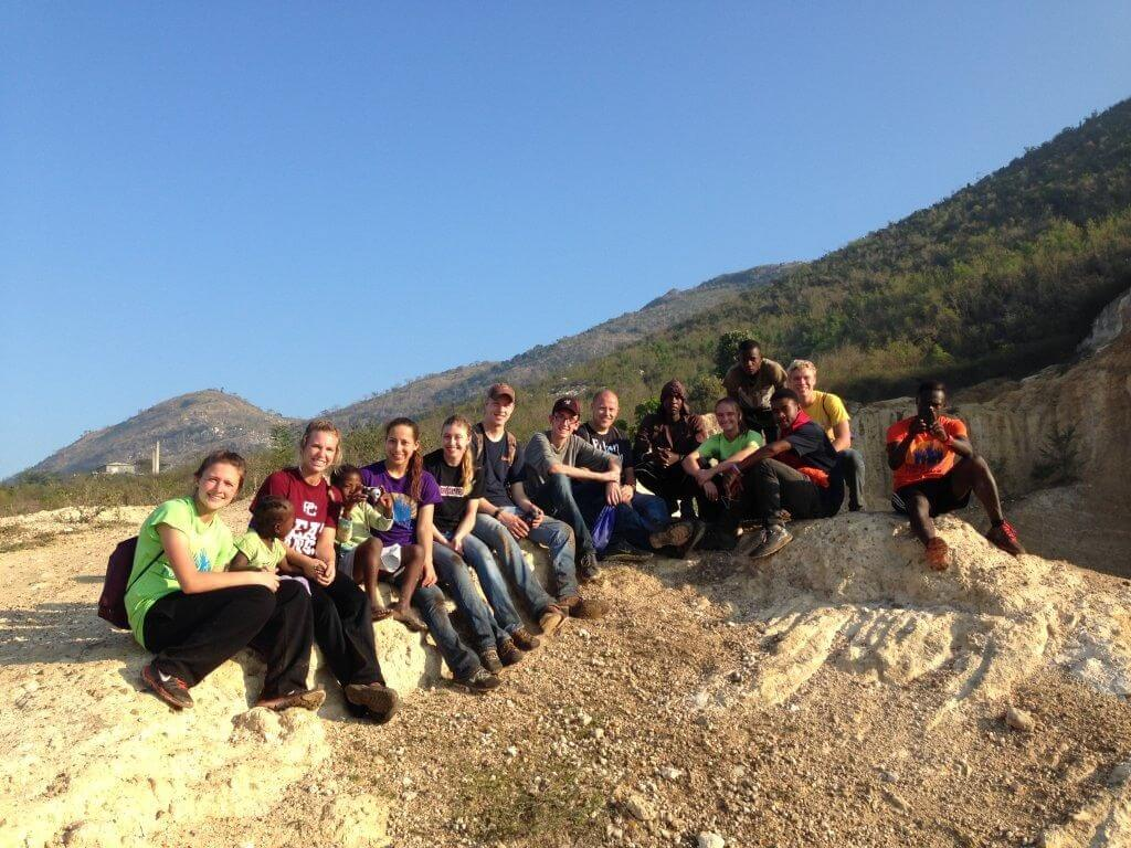 The hiking group