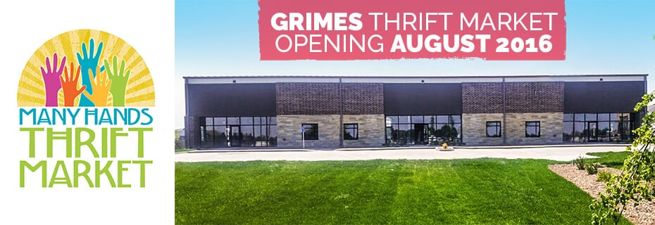 Thrifty For a Cause – Grimes Thrift Market to Open