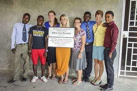 Dedication and MH Haiti Staff