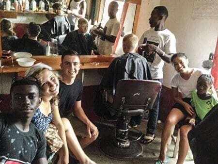 Team Tarrytown – Haircuts and Haiti