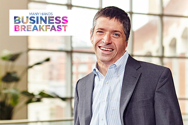 John O'Leary to Speak at Third Annual Business Breakfast